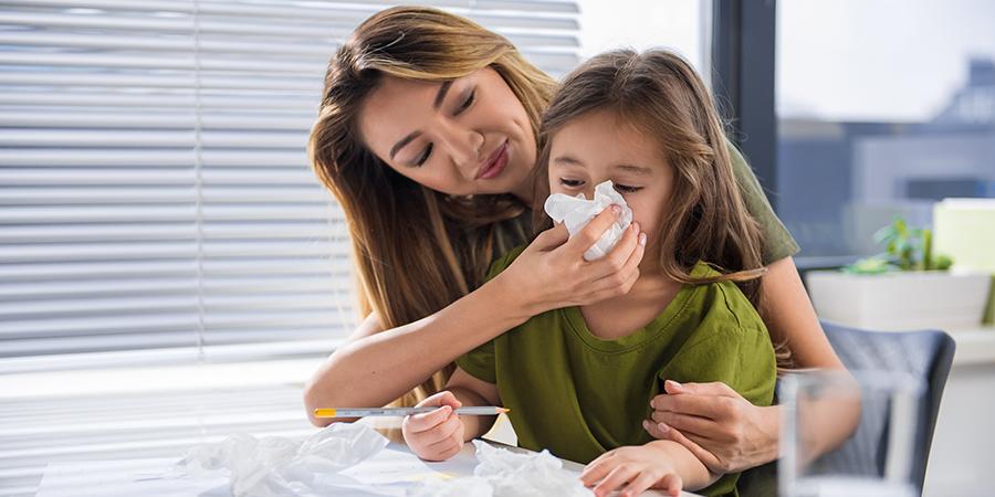 Nehézlégzés gyermekkorban-mitől nem szelel az orra?