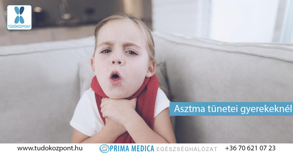 asztma tünetei babáknál