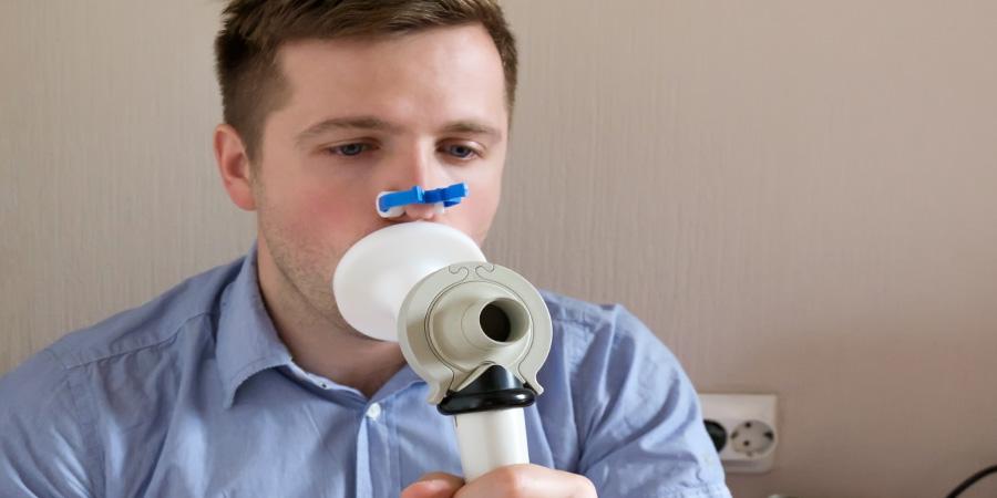 Légzésfunkciós vizsgálat (spirometria)