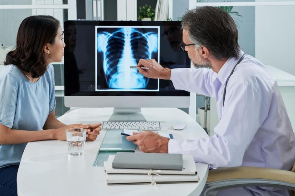 COVID után tüdőgyógyászati kivizsgálás.