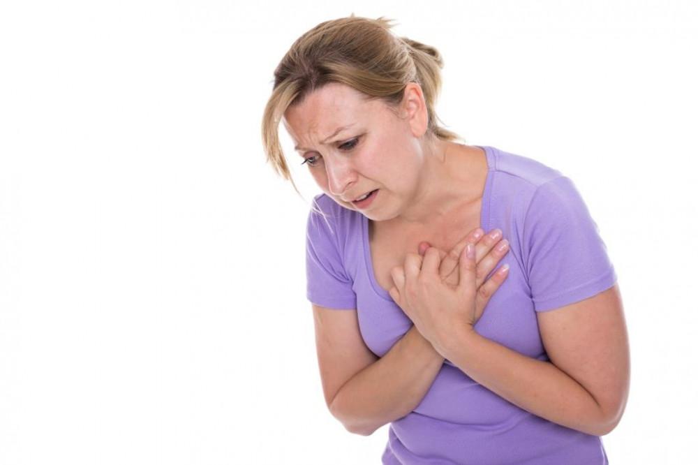 Tüdőtágulás tünete lehet a fulladás is.